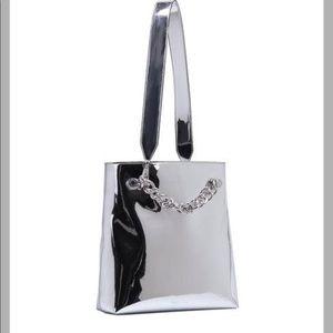 Kendall & Kylie Van Metallic Specchio Shoulder Bag